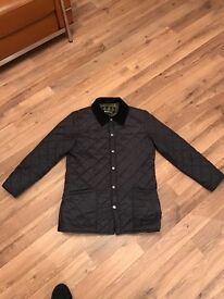 Barbour drigg jacket, navy