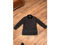 Barbour drigg jacket, navy