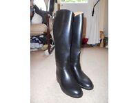 Aigle Black Riding Boots