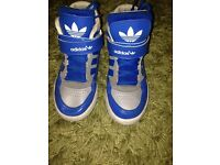 Adidas hi top trainers 12.5
