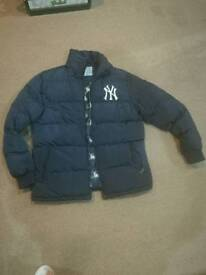 New York Yankees mens winter jacket size M