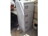 Modern Grey Filing cabinet