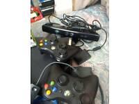Xbox 360 with skylanders pad see pics