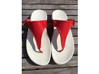 Ladies superjelly fitflops size 6.5