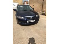 2007 Mazda 6 mot until June 2018 good condition air con drives well