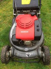 Honda HRH536 Pro Roller Professional, Excellent condition £495 ono