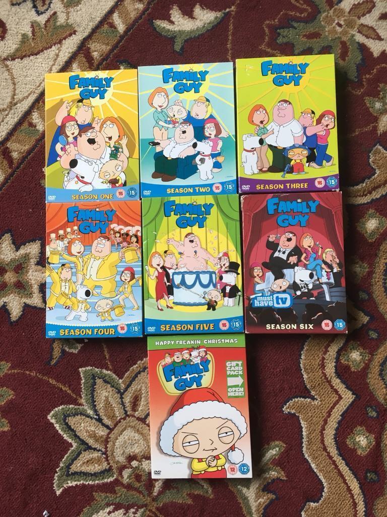 family guy boxsets seasons 1 6 christmas episode only 50p each - Family Guy Christmas Episodes