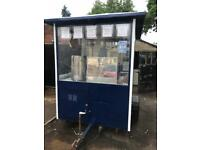 Catering trailer recently refurbished