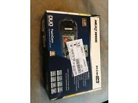 Dash Cam. New sealed NextBase Duo TwinCam In-Car Camera. HD DVR with GPS. Twin rotating cameras