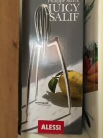 Alessi juicer new unopened in box