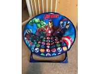 BRAND NEW MARVEL AVENGERS MOON CHAIR - BLUE