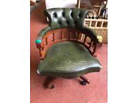 Chesterfield Office Chair (Requires Restoration)