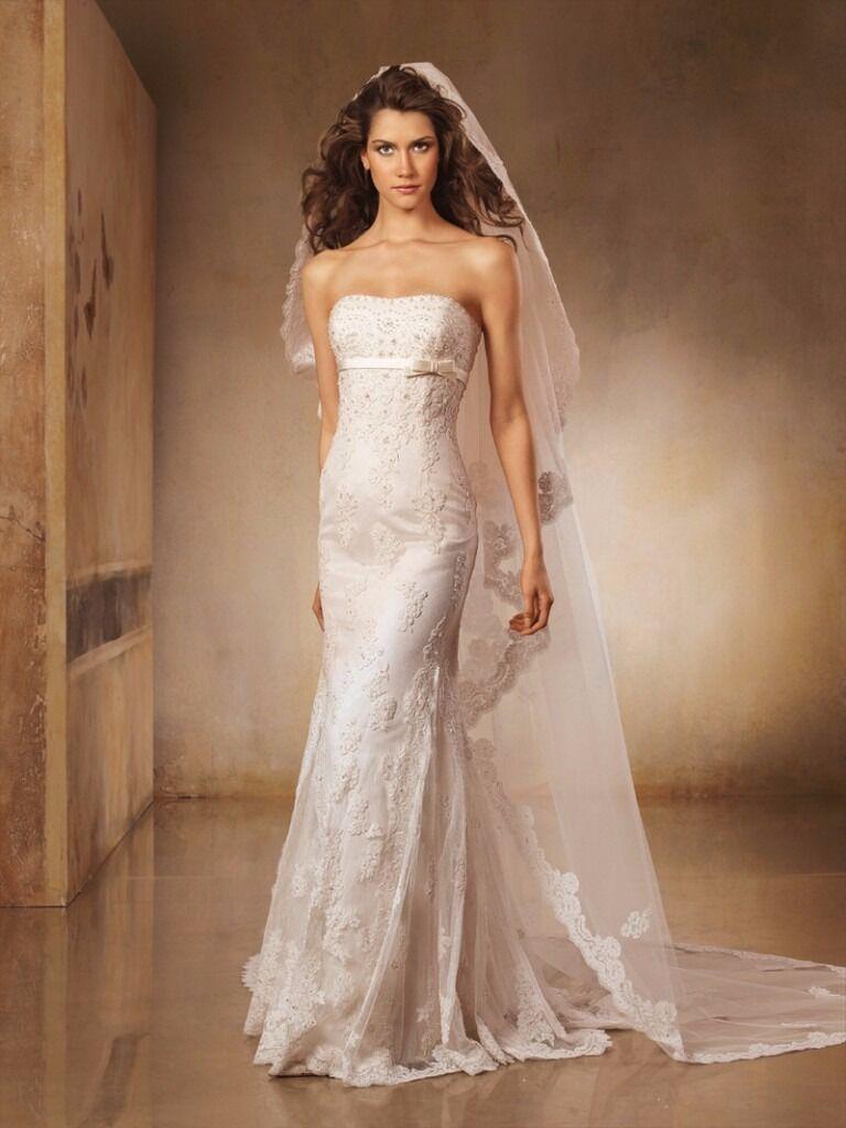 Pronovias off white wedding dress size 8 | in Wimbledon, London ...