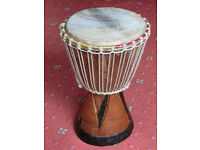 Tom Tom Tribal Hand Carved Drum - Ascot Berkshire