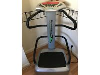 Vibration power plate. Used twice and in mint condition.