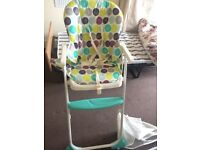 Baby feeding chair - john lewis
