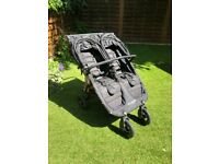 Double Baby Jogger City Mini GT Stroller - Black