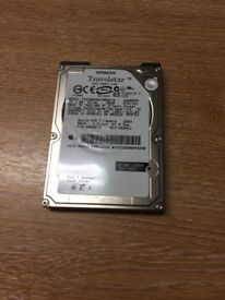 Hitachi 60GB IDE 2.5 Laptop Hard Disk Drive HDD IC25N060ATMR04-0