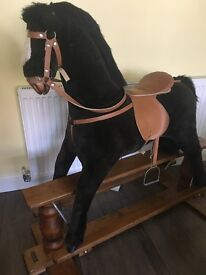 Gorgeous rocking horse