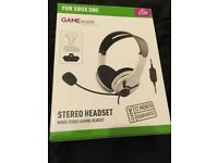 Xbox one wired stereo headset