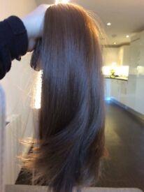 Beautiful Real human hair extensions