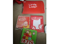 ***NEW*** Liverpool FC football club Little Liver ABC Books and Photo Frame