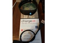 FitBit Charge HR Large black boxed