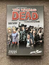 Rare Board Game for Sale - The Walking Dead The Board Game