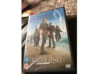 Rogue one a star wars story brand new unopened DVD video not blueray