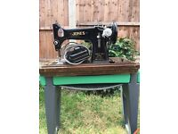 Jones D53A Antique Sewing Machine