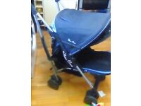 Silvercross foldaway buggy pushchair stroller hardly used suitable from birth