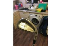 CLEVELAND TOUR ACTION TA7 IRONS 3-PW TRUE TEMPER STEEL SHAFTS S300