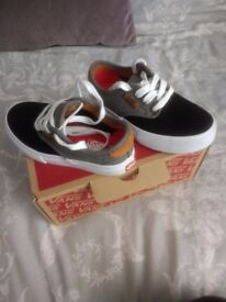 Kids vans size 10.5 (small made) brand new without tags