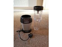 Nutri ninja 900 watts with two jars used good condition food blender preparation processor
