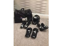 UKTC sparring gear and holdall