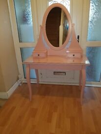 Ikea pink dressing table