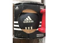 Medicine ball fitness 5kg Adidas.. excellent condition