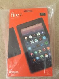Fire 7 with Alexa 8GB Black (New and Sealed)
