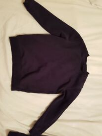 Age 5 navy school jumpers x 3