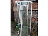 Shower enclosure £50 NO tray!