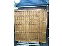 Fence panels 6x6 new unused