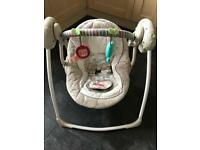 Auto musical baby swing. Excellent condition.