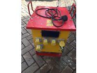 Transformer input 240V / output 110V