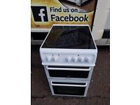 Hotpoint 50cm ceramic top cooker £135 guaranteed working