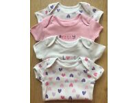 6-9 Months Baby Girls clothes, Vests