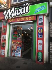 Off licenses Store Lease for sale