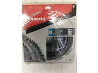Makita chop saw blade. New in packing.