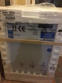Indesit heat pump tumble dryer,brand new in box cost £400