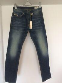 Men's DIESEL BRADDOM Jeans W28 x L32 (brand new)