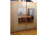 Large Mirrored Wardrobe for sale - excellent condition